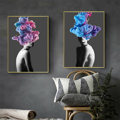 KF_ Unframed Modern Oil Painting Canvas Print Wall Art Picture Home Wall Decor