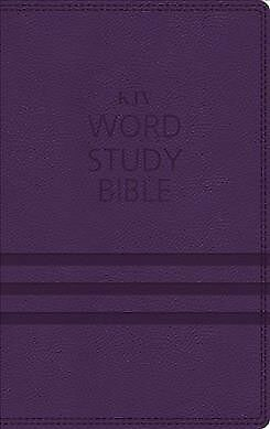 Word Study Bible : King James Version, Purple, Red Letter Edition: 1,700 Key ...