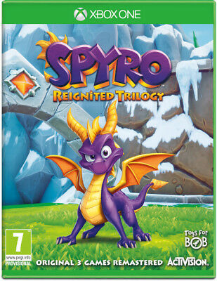 SPYRO DRAGON Reignited Trilogy - Xbox One | Digital | Leer Descripcion
