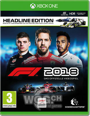 F1 2018 - XBOX ONE | Digital | Leer Descripcion