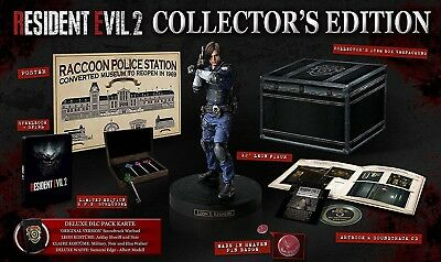 Resident Evil 2 Remake Collectors Edition CE Sony PS4  UNCUT - NEU & OVP