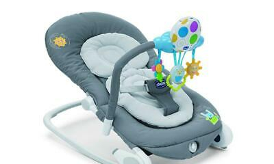 Chicco Schaukel wippe Chicco Balloon grau Babywippe Wiege Liege Babysitz Baby