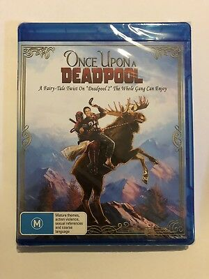 Once Upon A Deadpool Blu-Ray Movie 🍿 BRAND NEW & Sealed Region 4