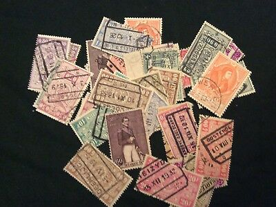 Belgium stamps mostly different lot of stamps