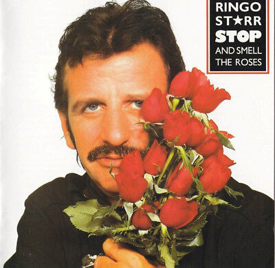 Ringo Starr – Stop And Smell The Roses CD in a JEWEL CASE