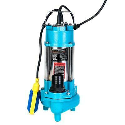 151623 Heavy Duty 450W Submersible Sewage Dirty Waste Water Pump Floating Switch
