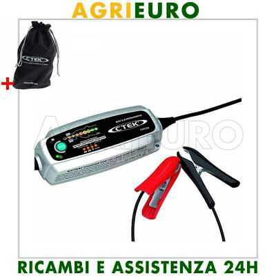 Caricabatterie mantenitore CTEK MXS 5.0 TEST & CHARGE - 8 fasi - test batteria