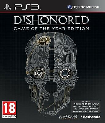 Dishonored GOTY☑️PlayStation 3 PS3☑️Digital Game🎮Download☑️Please Read