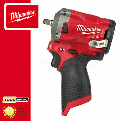 Milwaukee M12FIW38-0 12v 3/8 Cordless Fuel Sub Compact Impact Wrench Body Only