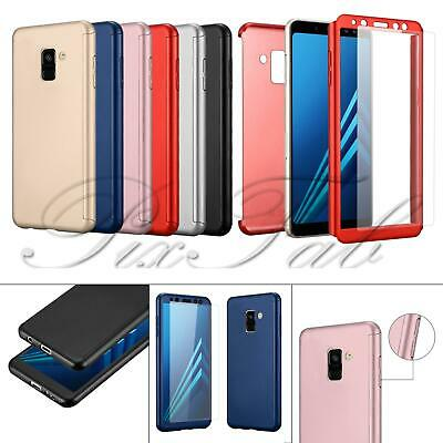 New 3 in 1 Front Back 360° Full Body Protection Shockproof Phone Case + T Glass