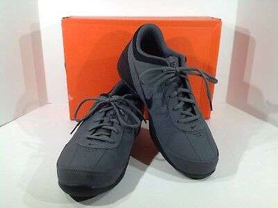 1ff1a043c3fd NIKE Air Ring Leader Low Men s Size 10 Dark Grey Black Athletic Shoes F2-