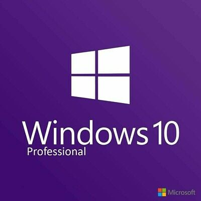 Microsoft Windows 10 Pro Activation For 32/64-Bit Genuine Product Key