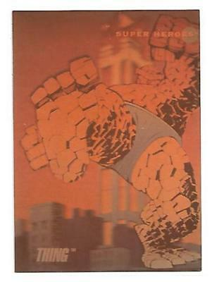 1992 Marvel Universe Hologram #H-2 The Thing Insert Card NM Condition Impel