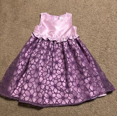 Gymboree Dress Up Lavender High Low Pretty Pleated Party Dress Girls 8 Dresses