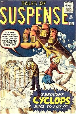 Tales Of Suspense vintage comics digital collection on dvd