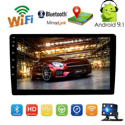 "10.1""  Android 8.1 In-Dash Car GPS Navigation 2 Din Car Stereo Radio Player+Cam"