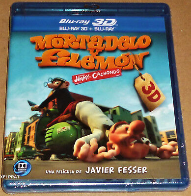 MORTADELO Y FILEMON CONTRA JIMMY EL CACHONDO -Bluray 2D y 3D -Area B- Precintada