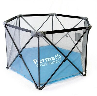 Pop-Up Portable Fabric Playpen Baby Pet Travel Play Yard Beach Park Home Safety