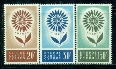 CYPRUS 244-46 SG249-51 MH 1964 Europa set of 3 Cat$36
