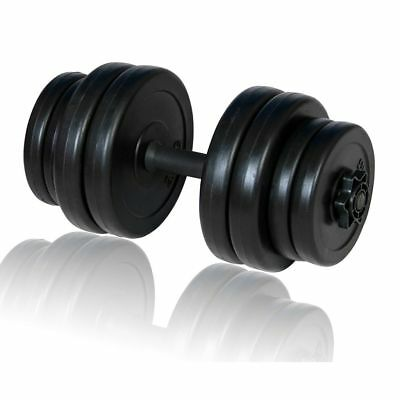 1x Dumbbells 15kg Dumbbell Set Free Weights Lifting Fitness Exercise Gym Workout
