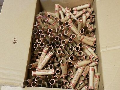 1000 Coin-Tainer Paper Penny Wrappers. Pre-Crimped End Shotgun Rolls. 50 Cents