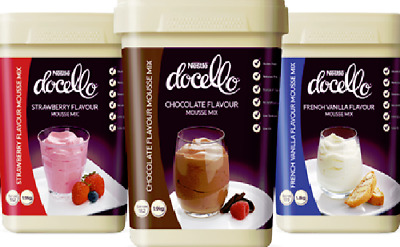 Nestle Docello Classic Mousse Variety Mix 1.9Kg