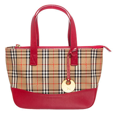 73275e8d6b8 NEW BURBERRY HAYMARKET Check Bag Northfield Womens Tote -  749.00 ...