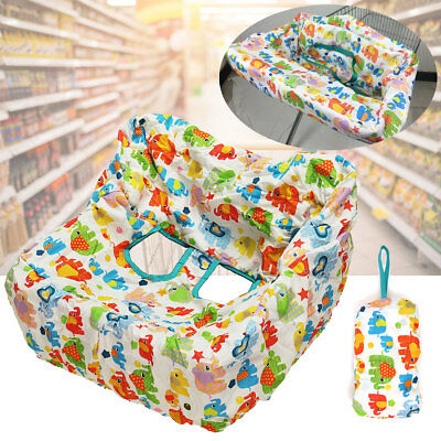 Shopping Trolley High Chair Cover Comfortable Pad Baby Toddler Child
