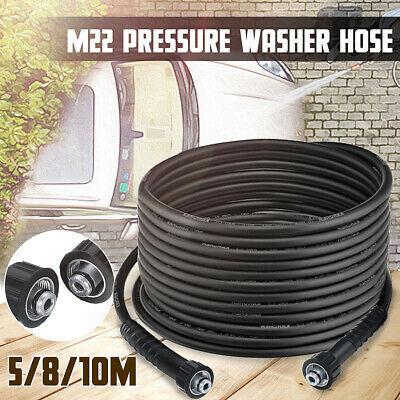 AU 40MPa High Pressure Water Cleaner Clean Washer Hose M22 xM22 Male To Male
