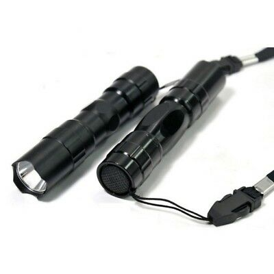 LED Tactical Flashlight Military Torch Lamp Small Super Bright Keychain Light US