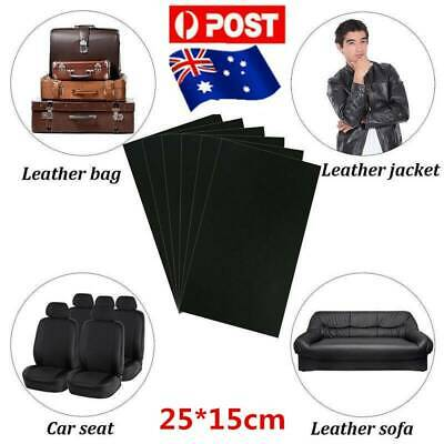 Leather Repair Kit Patch Car Seat Upholstery Filler Couch Sofa Furniture AU