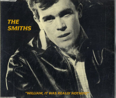 """Smiths William It Was Really Nothing CD single (CD5 / 5"""") UK RTT166CD"""