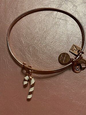 Alex and Ani Womens Charity by Design Candy Cane