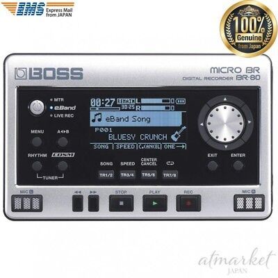 BOSS Digital Recorder BR-80 MICRO BR MTR eBand Live Rec mode genuine from JAPAN