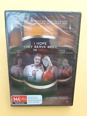 I Hope They Serve Beer In Hell [ Region 4 DVD ] BRAND NEW & SEALED, Free Post