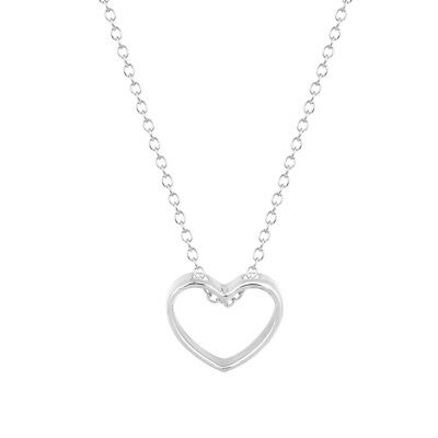 Hollow Love Heart Pendants Long Chain Charm Necklaces Girlfriend Valentines Gift