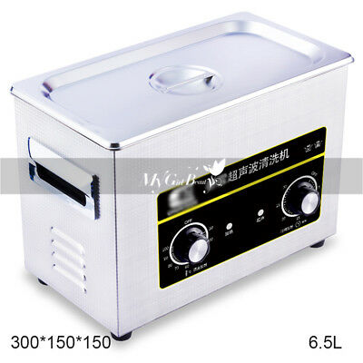 Electric Ultrasonic Cleaner Glass Watch Ring Jewelry Cleaning Mini Machine 6.5L