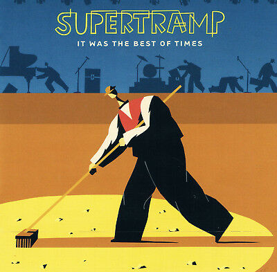 Supertramp - It Was The Best Of Times - Live-CD-Album - 1999 -Sehr Guter Zustand