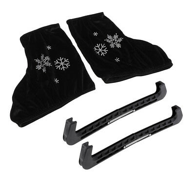 Durable Skates Blade Guards Soaker Protector and Boots Cover for Ice Skating