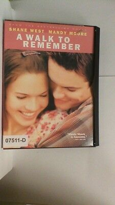 DVD Movie A WALK TO REMEMBER Mandy Moore  in Original Jacket