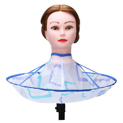Adult Kid Foldable Salon Barber Hair Cutting Cloak Umbrella Hairdressing Cape