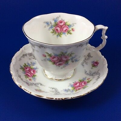 Royal Albert Tranquility Bone China Tea Cup And Saucer