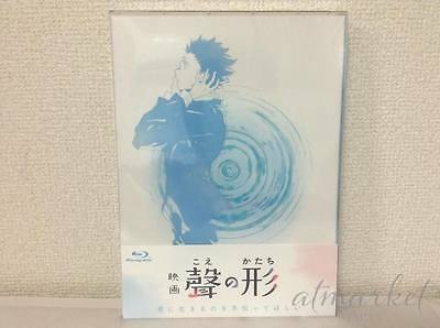 A Silent Voice Koe Kein Katachi First Limited Edition 2 Blu-Ray Booklet Japa F S