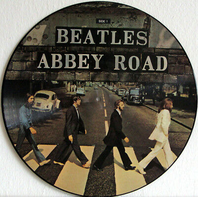"The Beatles Abbey Road  Vinyl Sticker 100Mm Round 4"" Quality Others Listed"