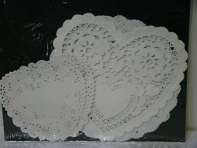 Victorian Trading Co Artifacts Crafts Dainty Hearts Doilies Paper Dining