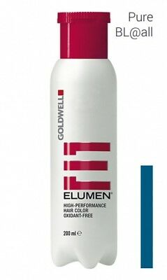 Goldwell Elumen Haarfarbe ohne Ammoniak Pure BL@all blau 200 ml