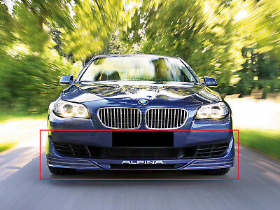Bmw 5 Series F10 F11 From 2010 Alpina Look Front Bumper Valance - Spoiler New