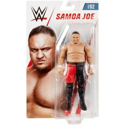 Wwe Samoa Joe Mattel Basic Series 92 Wrestling Action Figure Toy Figurine Tna