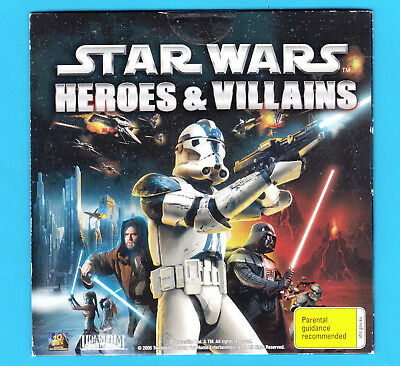 STAR WARS™ HEROES & VILLAINS ~ 2005 ~ DVD Colour NEW