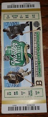 f10f0aa5198 2019 Winter Classic Boston Bruins Chicago Blackhawks NHL Hockey Ticket  Multi Cr